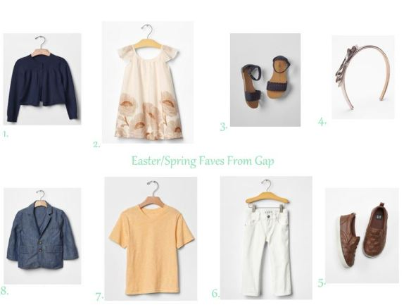 Easter Looks From Gap // thegoldbrickroad.com