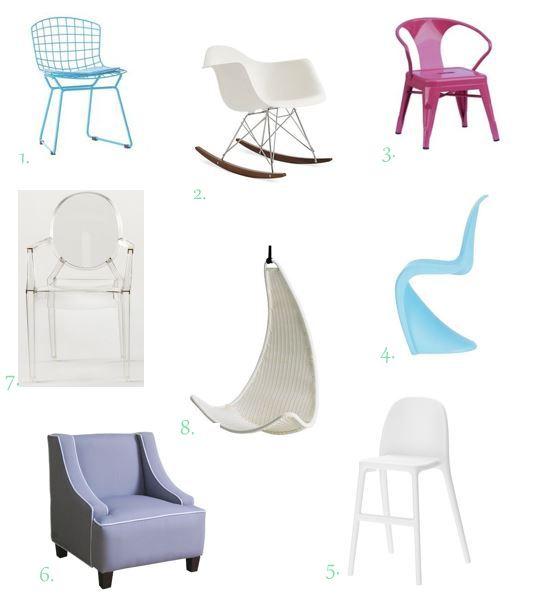 Mod Kid's Furniture // thegoldbrickroad.com