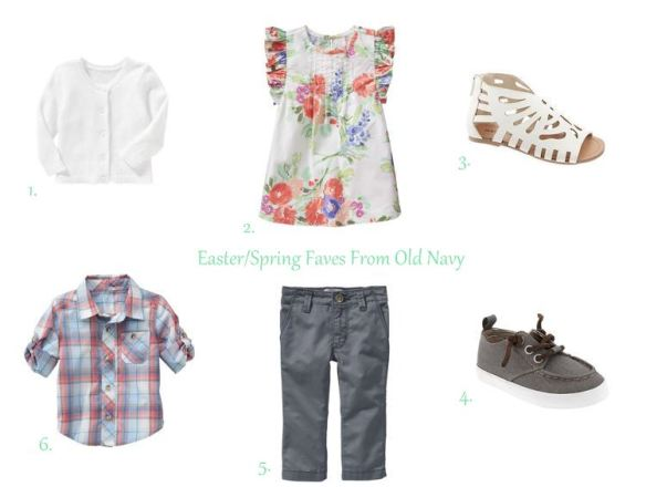 Easter Looks From Old Navy // thegoldbrickroad.com