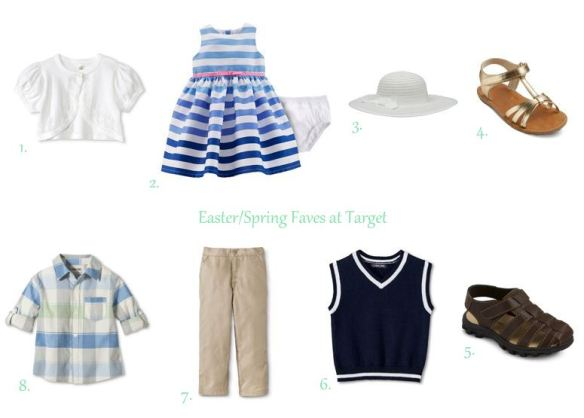 Easter Looks From Target // thegoldbrickroad.com