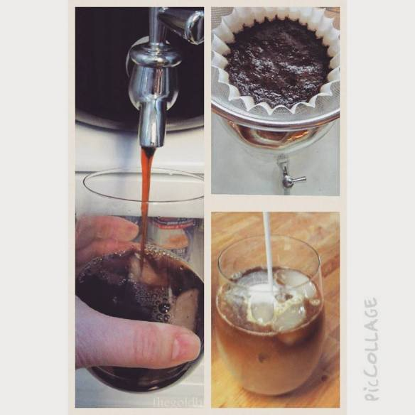 Iced Coffee Done Right // thegoldbrickroad.com