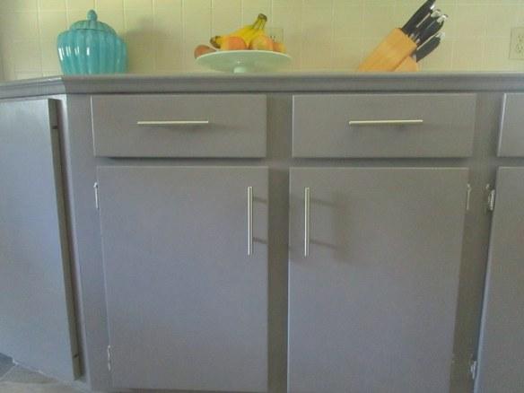 No More Naked Cabinets // thegoldbrickroad.com